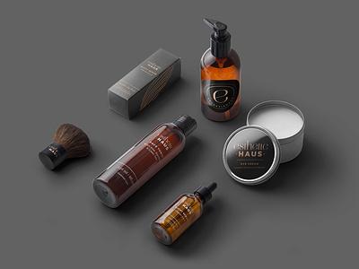 Esthetic Haus Brand Design branding logo logodesign beauty logo packaging design