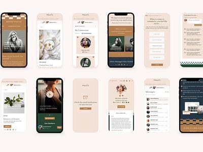 theJuggl  Mobile Responsive Web App Teaser responsive marketplace community women mentor women web app app design ui