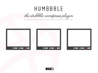 Humbbble -  the dribbble wp plugin