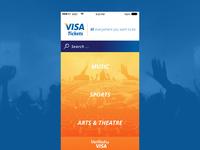 Visa Ticket App
