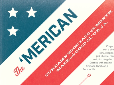 The 'Merican torchys tacos the american merican