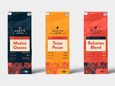 Coffee Bags austin texas graphic  design packaging package design