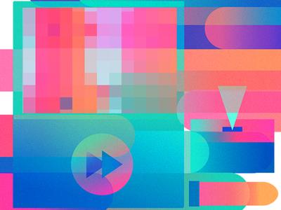 Dream Cream Machine tv computer tissue colors