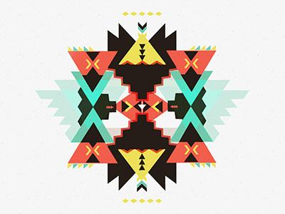 Geometric 666 geometric illustration pattern