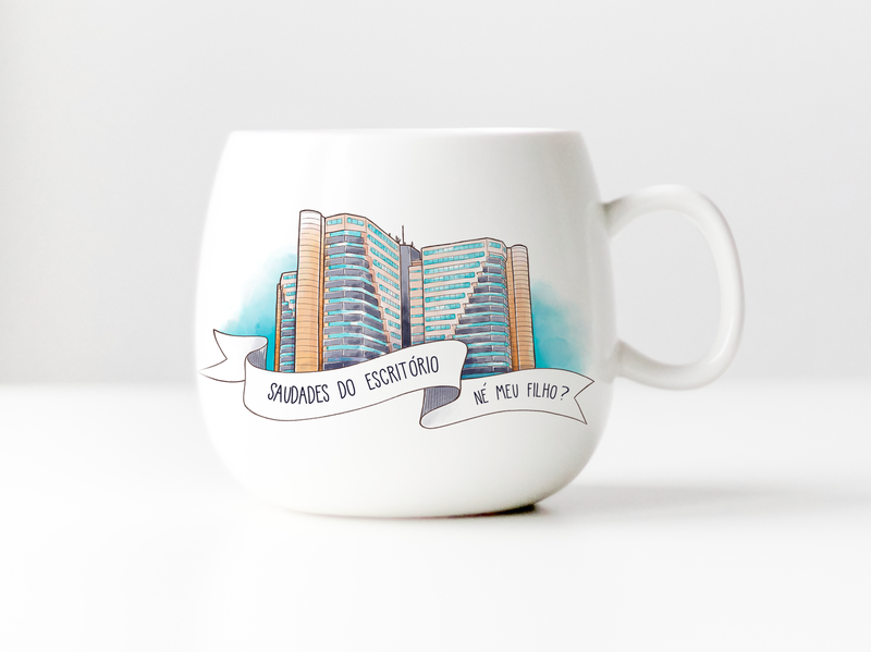Illustration for a mug
