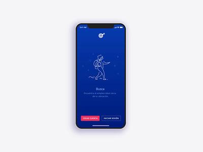 OCCMundial - Onboarding animation 2d lottie transition mobile app animation illustration walkthroughs