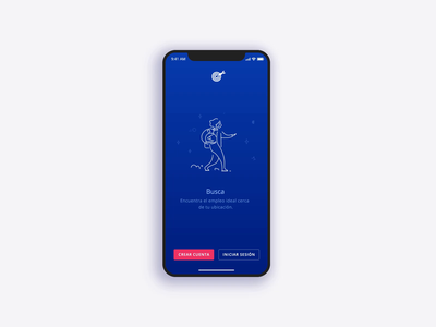 OCCMundial - Onboarding animation 2d lottie transition mobile app animation illustration walkthroughs