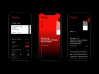 Generic Book app concept book app ui design