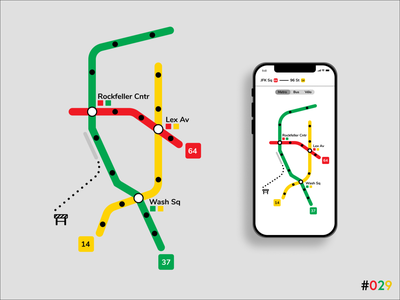 DailyUI #029 - Map clean web flat minimal graphic design ux ui design app art