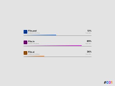 DailyUI #031 - File Upload flat minimal illustration graphic design web ux ui design app art