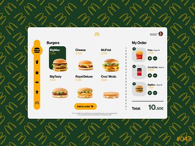 DailyUI #043 - Food/Drink Menu branding logo illustration graphic design web app ux ui design art