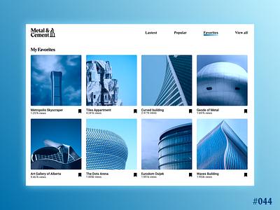DailyUI #044 - Favorites web logo branding illustration graphic design app ui ux design art