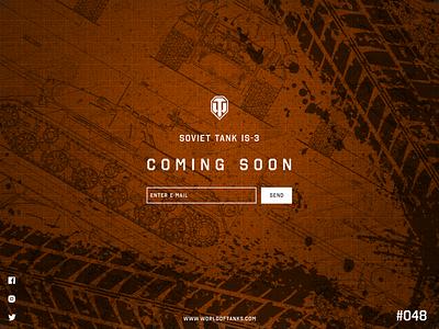 DailyUI #048 - Coming Soon branding logo illustration graphic design web app ux ui design art