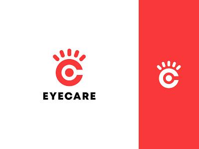 EYECARE LOGO DESIGN c logo simple creative illustration design app icon typography minimalist logo app logo logo branding logo design