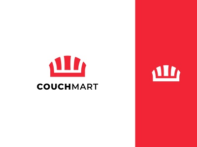 COUCH MART Logo Design couch minimalist logo typography logo app icon app logo design branding illustration icon ui logo design