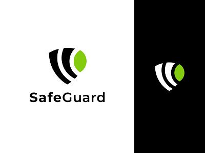 Safe Guard Logo Design logo typography shield design illustration ui minimalist logo app logo branding logo design