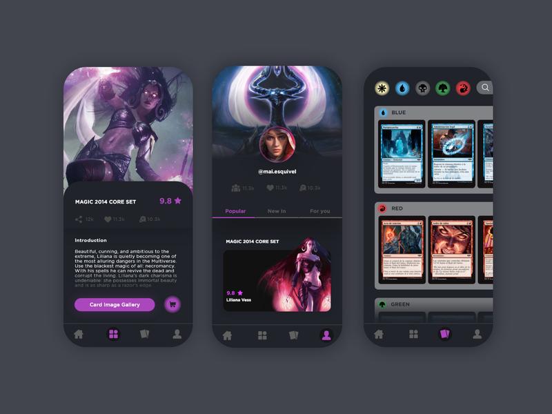 Game App app game games magic game art app ui