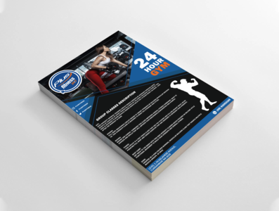 Plus Fitness | Gym Flyer