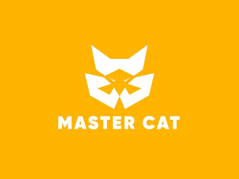 Master cat logo design! Cat logo type a logo brand identity minimalist minimalism logo symbol minimal flat branding