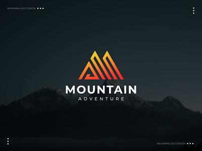 Mountain logo - Minimalist logo - Business m logo business logo maker a logo business logo minimalist logo design minimalist logo mountain logo logotype modern logo typography minimalism minimal logo minimalist brand identity symbol branding