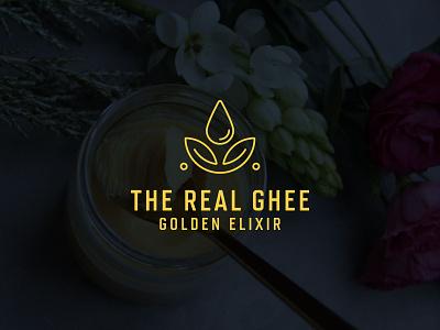 Ghee luxury logo design - Ghee minimal logo - Organic logo modern logo minimalistic wordmark logo luxury brand luxury logo organic logo ghee ghee logo minimalism minimal logo minimalist brand identity symbol branding