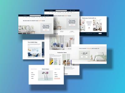 Website Design | Furniture Store | | UX/UI furniture website website design web design user interface design user experience user interface ui design uxdesign ux  ui uxui ui ux