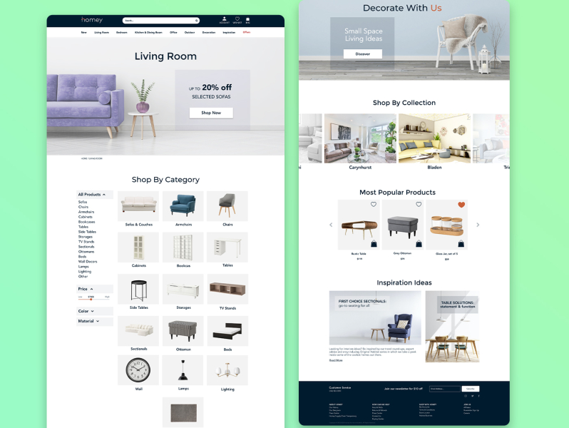 Website Design By Sharifa On Dribbble