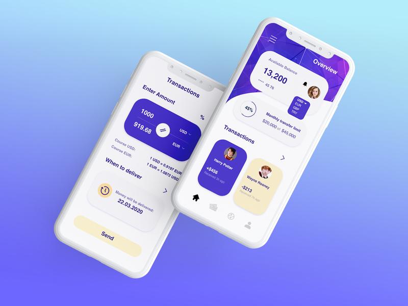 Application Design | Online Banking bank app online banking user experience design user interface design user interface user experience iphone x ios app design ios app ux  ui ux design ui design ux ui app design app