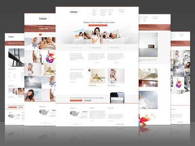 Contour Minimal Business or Creative Template Design html5 themeforest premium website wed design minimal clean fullscreen lightbox responsive ui