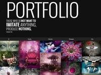 Surreal - Parallax WordPress Website - Portfolio