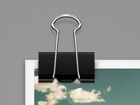 Paper Clip PSD Freebie