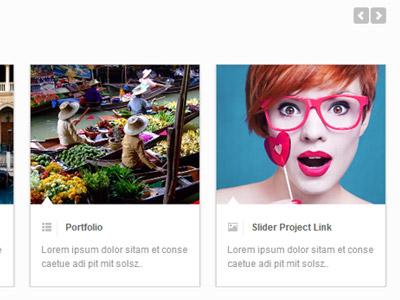 Mentor Template's Custom Responsive Carousel template responsive website design ui carousel portfolio