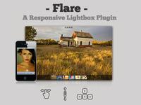 Flare Responsive Lightbox jQuery Plugin