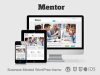 Mentor - Responsive Business WordPress Theme