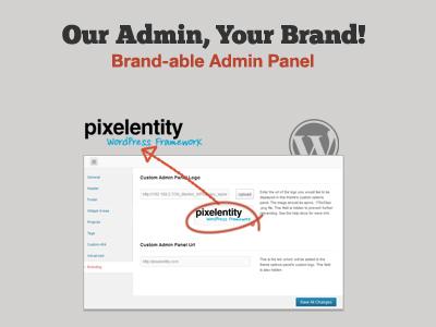 Pixelentity WordPress Framework - Brandable Admin wordpress theme admin panel framework themes