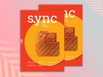 "Magazine cover ""S.ync"""