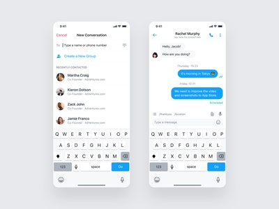 Messenger Conversation