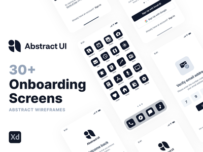 Onboarding Wireframe Kit wireframes ui ux app design material design android ios onboarding walkthroughs login sign up register passcode splash screen launch screen forgot password setup profile onboarding flow new user ui kit
