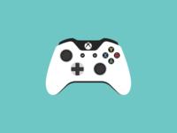 White Xbox One Controller