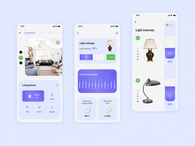 Smart Home App concept uxdesign uidesign ui home smarthome