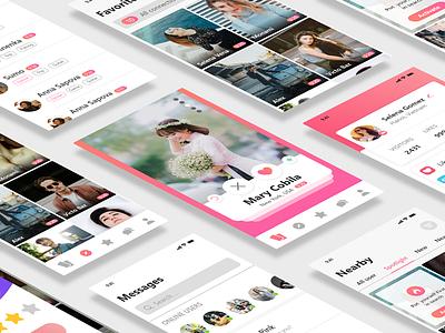 Bego app app flat xd ux design uidesign