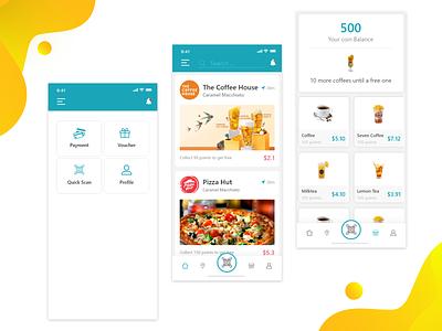 Fast Food App ui ux food  drink app drink food app