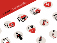 Iconset Cardiovasculair