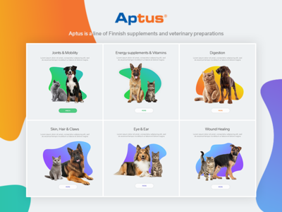 Aptus - Product categories