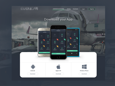 Aircraft platform - Download page