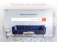 Real Estate Web - Header