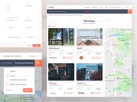 Real Estate Website - Search
