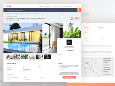 Real Estate Website - Property Detail