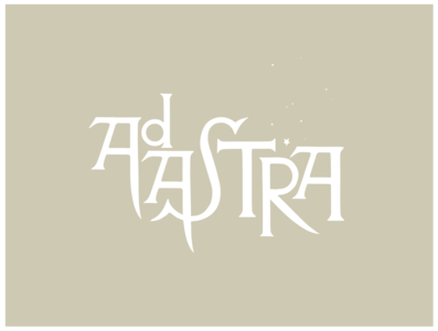 Ad Astra.