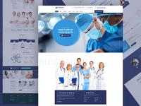 Mediclub - Landing page